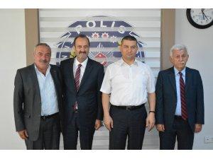 MHP'li Osmanağaoğlu'ndan Tire Emniyet Müdürlüğü'ne anlamlı ziyaret