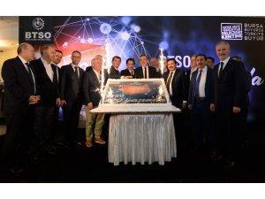 BTSO 129'uncu yaşını kutladı