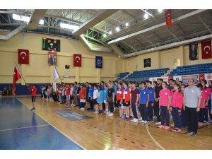 Anadolu Yıldızlar Ligi Basketbol Türkiye Birinciliği heyecanı Bilecik'te başladı