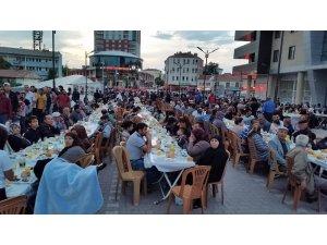 Kulu'da yardım derneğinden iftar