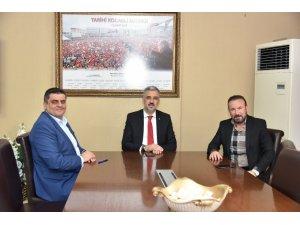 Başkan Doğan'dan AK Parti İl Başkanı Abdullah Eryarsoy'a ziyaret