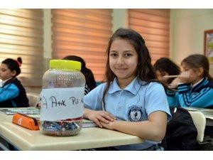 Diyarbakır'da 3 ton 507 kilogram atık pil geri dönüşüme kazandırıldı