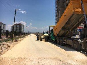 Altınşehir Mahallesinde asfalt çalışması yapıldı