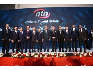 Cumhurbaşkanı Erdoğan ATO'nun iftarına katıldı