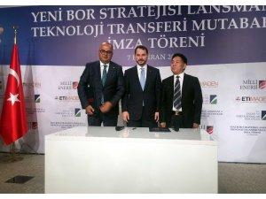 """Enerji ve Tabii Kaynaklar Bakanı Berat Albayrak:""""Yüksek teknoloji bor karbür tesisini kuruyoruz"""""""