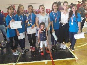 Eskişehirli yıldız kızlar Türkiye Şampiyonasında ikinci oldu