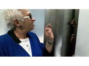 TKB Sakarya Şube Başkanı Yağan asansörde mahsur kaldı