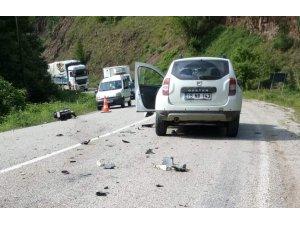 Cip ile çarpışan motosiklet sürücüsü öldü