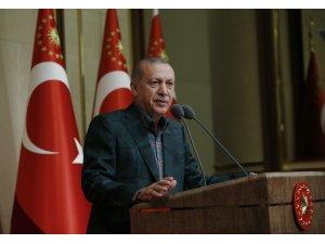 """Cumhurbaşkanı Erdoğan: """"Ülkemize kazandırdığımız eserler bizim milletimiz nezdindeki berat belgelerimizdir"""""""