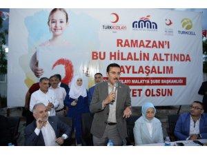 Bakan Tüfenkci, Suriyeli mültecilerle iftar yaptı