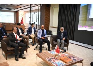 AK Parti Grup Başkan Vekili Elitaş ve Milletvekili Yıldız Kayseri OSB'yi ziyaret etti