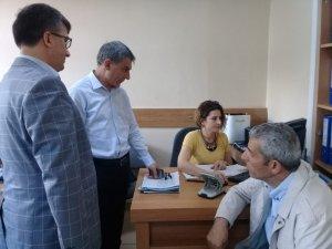 Kaymakam Özkan'dan Nüfus Müdürlüğü ziyareti