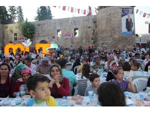 Mersin Büyükşehir Belediyesi'nden Mut'ta iftar sofrası