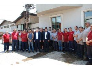 AK Parti Aydın Milletvekili Savaş, Efeler'de OSB'yi ziyaret etti