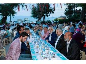 Başkan Baran, orucunu Herekelilerle birlikte açtı