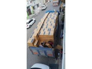İstanbul polisinden sigara kaçakçılarına şok baskın: 480 bin paket kaçak sigara ele geçirildi