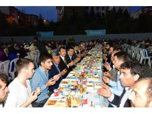 Söğüt halkı iftar sofrasında buluştu