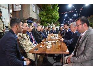Vali Elban iftar programlarına devam ediyor