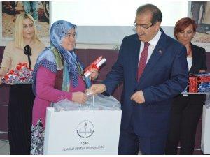 Uşak Mehmet Sadık Boz İlkokulunda çifte sevinç yaşandı