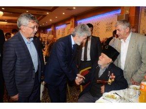 Başkanlar Tuna ve Çetin şehit aileleriyle iftar yaptı