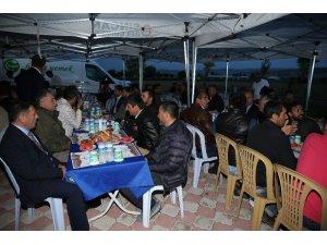 Başkan Ercan, Hayvancılık Bölgesi işletmecileriyle iftar yaptı