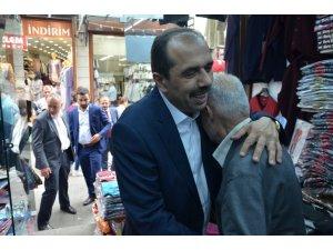 AK Parti Milletvekili Muhammet Balta seçim ziyaretlerine ara vermeden devam ediyor