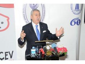 """TESK Başkanı Palandöken: """"Kaçakçılık yüzde 25'lerden yüzde 8'lere düştü"""""""