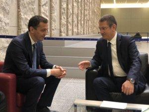 Bakan Canikli Brüksel'de Karadağ Savunma Bakanı ile görüştü