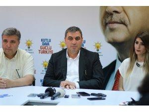 """AK Parti Edirne İl Başkanı İba: """"Tüm halkımızı Selimiye Meydanına davet ediyorum"""""""