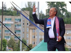 CHP Cumhurbaşkanı adayı Muharrem İnce Karabük'te