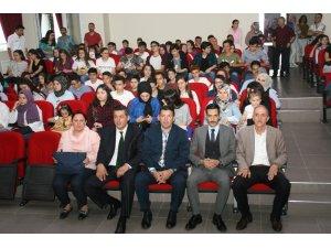 Devrek Sabahat Cemil Ulupınar Fen Lisesi'nden ödül töreni