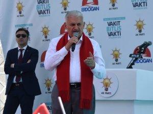 """Başbakan Yıldırım: """"Kürtlerin bin yıldır devletleri var"""""""