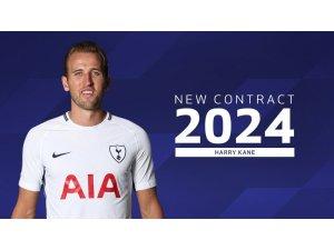 Tottenham, Harry Kane'in sözleşmesini 2024'e uzattı