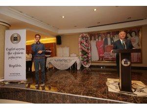 Yenimahalle'de iftar sofrası engelliler için kuruldu