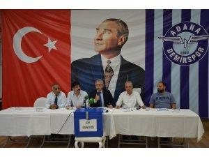 Adana Demirspor'da yeni başkan Kazım Bozan