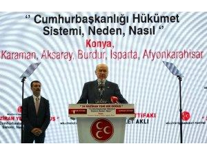 """MHP Lideri Bahçeli: """"24 Haziran yeni bir doğuştur"""""""