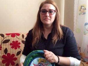 Kaçırılan çocuğunu kurtarmak isterken ölümden dönen kadın o anları anlattı