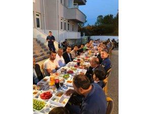 Perşembe Jandarma karakolundan iftar