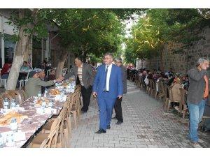 Belediye ve firmalardan ortak halk iftarı