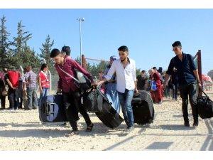 Ramazan bayramı için ülkesine giden Suriyelilerin sayısı 40 bini aştı