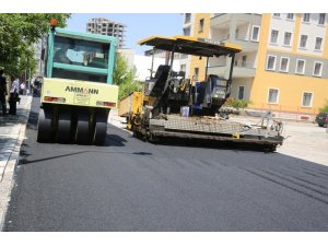 Nurihas Mahallesinde asfaltlama Çalışması başladı