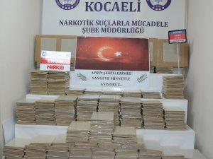 Kocaeli'de 5 ayda uyuşturucudan 286 kişi tutuklandı