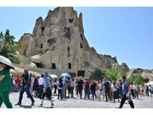 Kapadokya'da Mayıs ayında turist sayısı düştü