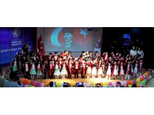 ÇOMÜ Kreş'in mezuniyet göreni gerçekleştirildi