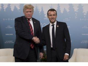 Fransa Cumhurbaşkanı Macron, ABD'yi G7'den çıkarmakla tehdit etti
