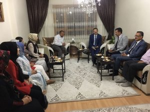 Başkan Tiryaki'den gazi ailesine ziyaret