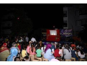 Kartepe ramazan şenlikleri çocukların eğlence merkezi oldu