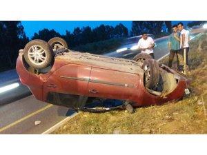 Milas'ta trafik kazaları; 2 yaralı