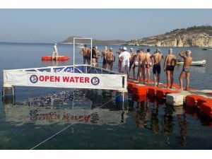 Yüzme milli takım seçmeleri Foça'da