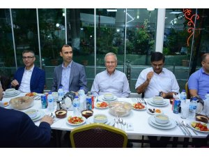Adliye personeline iftar yemeği verildi